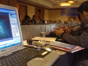Pelatihan Jurnalistik Majalah Warta Anggaran