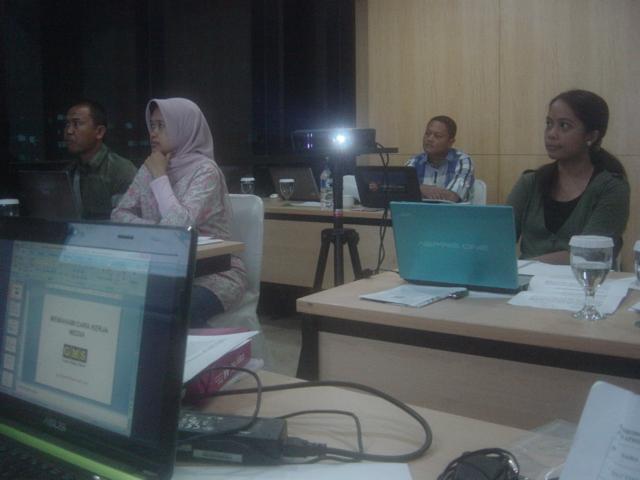 Pelatihan Jurnalistik untuk Humas bulan Mei 2013
