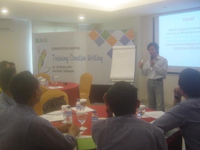 Pelatihan Creative Writing Skill PT Bukit Makmur Mandiri Utama