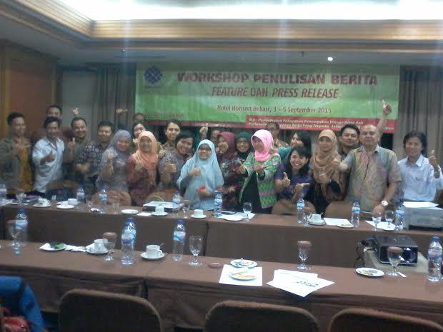 Pelatihan Jurnalistik Binapenta Kemnaker